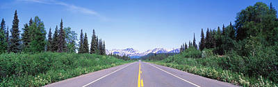 Ak Photograph - George Parks Highway Ak by Panoramic Images