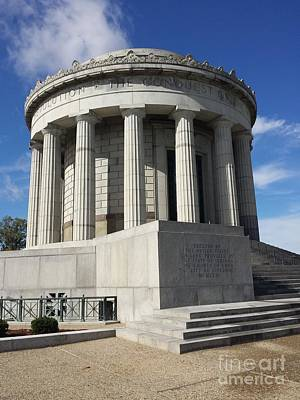 Photograph - George Rogers Clark Memorial by J Anthony Shuff
