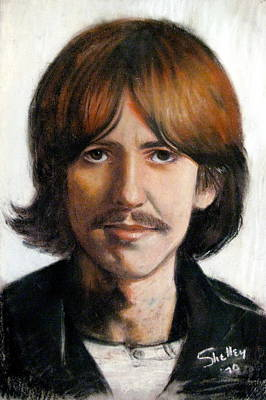 George Art Print by Shelley Phillips