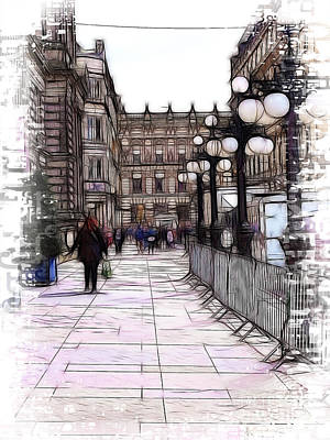 Photograph - George Square Glasgow by Fiona Messenger