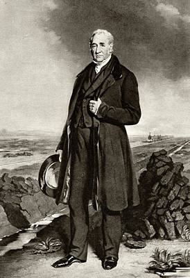 George Stephenson Art Print by Cci Archives