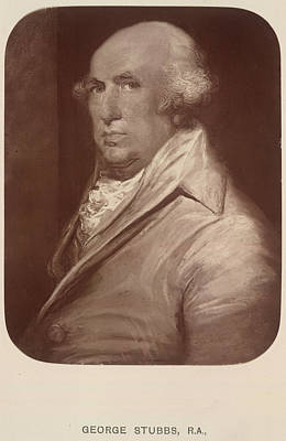 Of Painter Photograph - George Stubbs by British Library
