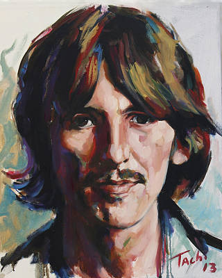 Character Portraits Painting - George  by Tachi Pintor