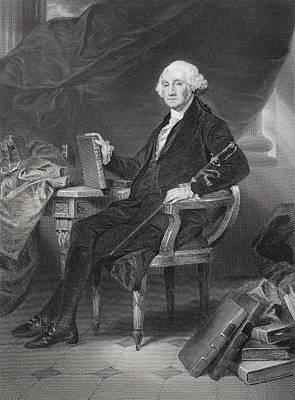 Alonzo Photograph - George Washington 1732-1799. Commander by Ken Welsh