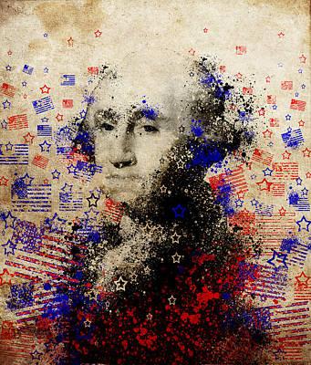 Painting - George Washington 2 by Bekim Art