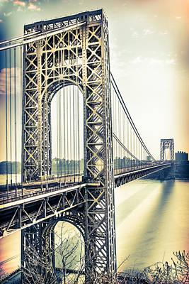 Photograph - George Washington Bridge by Elvira Pinkhas