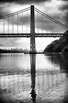 Photograph - George Washington Bridge by John Rizzuto