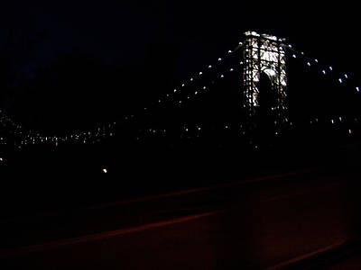 Photograph - George Washington Bridge by Mieczyslaw Rudek