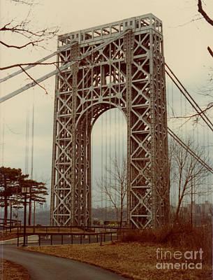 George Washington Bridge Art Print by Nancie Johnson