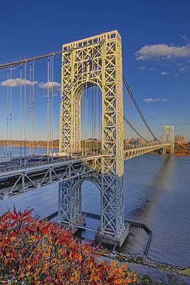 Politicians Royalty-Free and Rights-Managed Images - George Washington Bridge by Susan Candelario