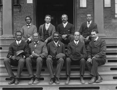 George Washington Carver Photograph - George Washington Carver And Staff 1902 by Mountain Dreams