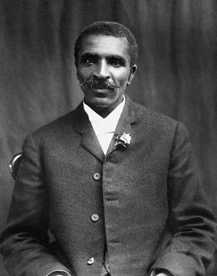 George Washington Carver Photograph - George Washington Carver (c1864-1943) by Granger
