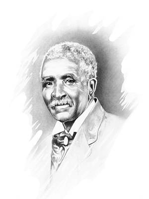 George Washington Carver Art Print by Gordon Van Dusen