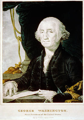 Politicians Royalty-Free and Rights-Managed Images - George Washington by Celestial Images