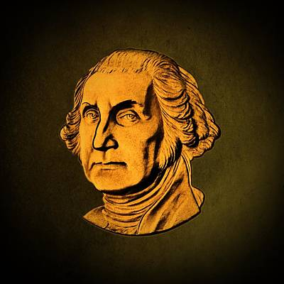 George Washington Digital Art - George Washington by David Dehner