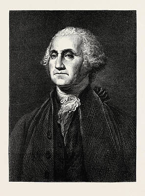 George Washington, He Was One Of The Founding Fathers Art Print by American School
