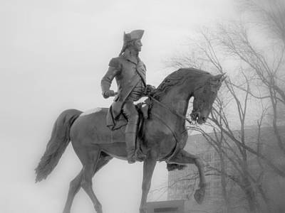 Photograph - George Washington In Soft Focus by Caroline Stella