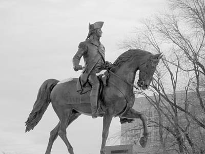Photograph - George Washington  One by Caroline Stella