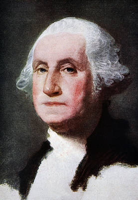 First Americans Painting - George Washington by Gilbert Stuart