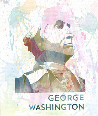 George Washington Digital Art - George Washington by Victor Arriaga