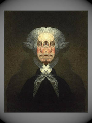 Digital Art - George Washington by Zac AlleyWalker Lowing