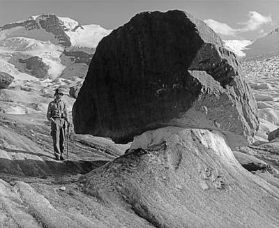 Photograph - T-902411-george Whitmore At Glacier Table by Ed  Cooper Photography