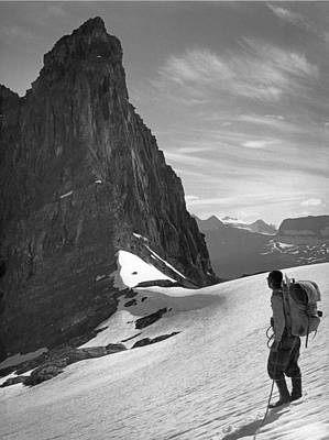 Photograph - T-103809-george Whitmore Near Mt. Alberta by Ed  Cooper Photography