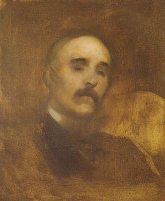 Georges Clemenceau  Art Print by Eugene Carriere