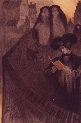 Georges De Feure, 1868-1943 Art Print by Liszt Collection