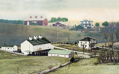 Georges Farm Art Print