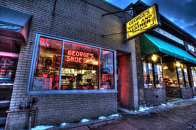 Photograph - Georges Shoe And Leather Repair by Amanda Stadther