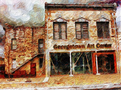 Georgetown Mixed Media - Georgetown Art Center by GretchenArt FineArt