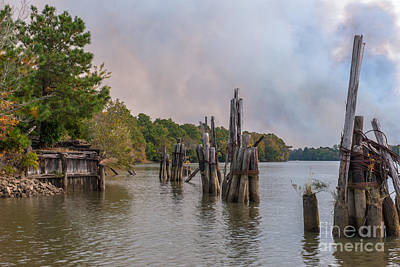 Photograph - Georgetown Boat Landing by Dale Powell