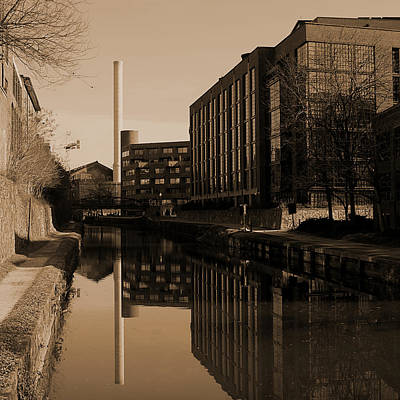 Photograph - Georgetown - Canal Reflections 3 by Richard Reeve