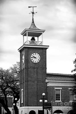 Georgetown Clock Art Print by John Rizzuto