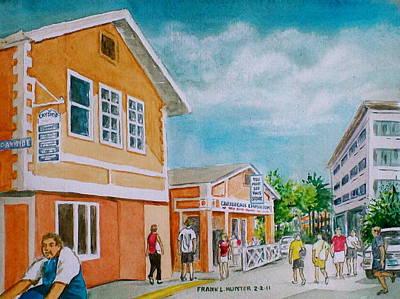 Georgetown Grand Cayman Art Print