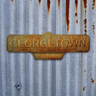 Georgetown Digital Art - Georgetown by Mark Khan