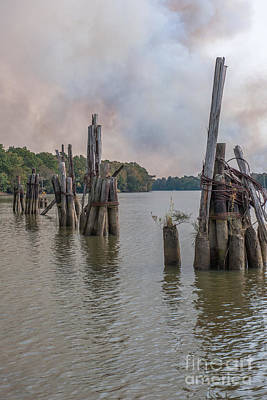 Photograph - Georgetown Pilings by Dale Powell
