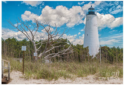 Photograph - Georgetown Sc Lighthouse by Mike Covington