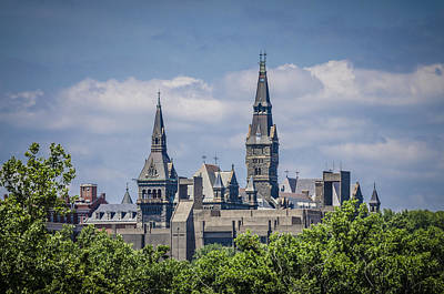 Photograph - Georgetown University by Bradley Clay