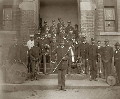 Marching Band Photograph - Georgia Band, C1900 by Granger