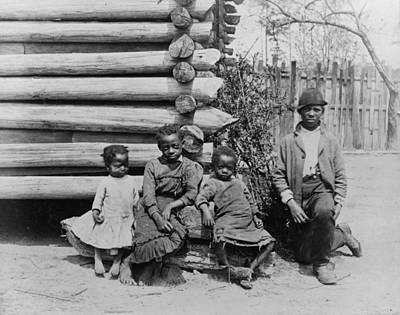 Photograph - Georgia Children, C1886 by Granger