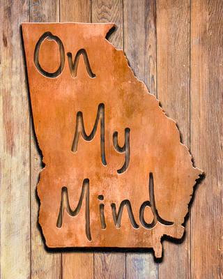Digital Art - Georgia On My Mind by Mark Tisdale