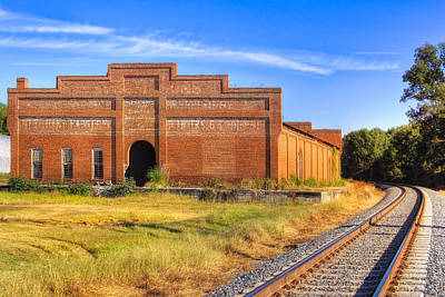 Photograph - Georgia Past - Old Cotton Warehouse - Byromville by Mark E Tisdale