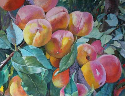 Painting - Georgia Peachers by Michael McDougall