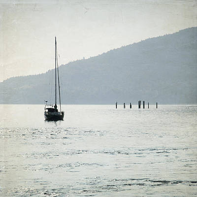 Photograph - Georgia Strait - Canada - Square by Lisa Parrish