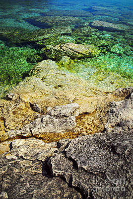 Georgian Bay Photograph - Georgian Bay Abstract II by Elena Elisseeva
