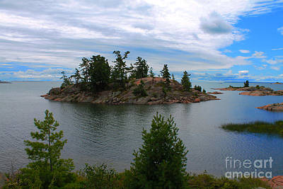 Photograph - Georgian Bay Beauty by Nina Silver