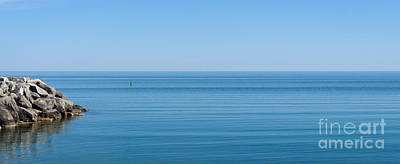 Photograph - Georgian Bay On A Calm Day by Les Palenik