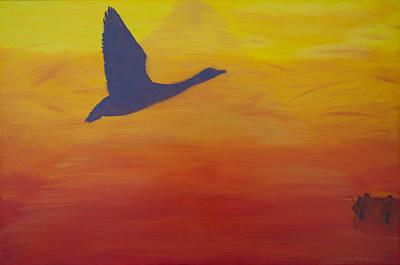 Georgian Bay Sunset Art Print by Alex Banman